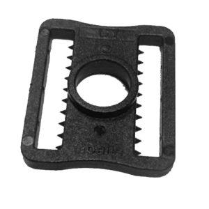 Застежка пластиковая для вратарского шлема A&R Черная